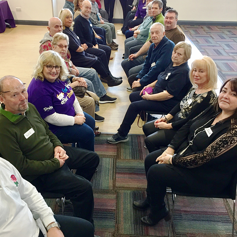 Stroke care is discussed at a local meeting.