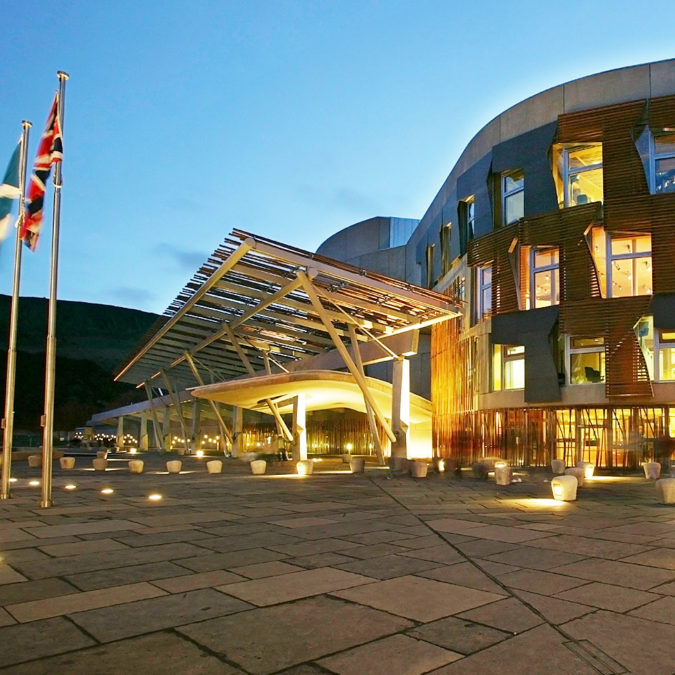 The Scottish Parliament building © Scottish Parliamentary Corporate Body
