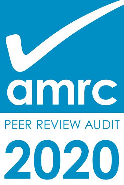 AMRC Peer Review Audit 2020 logo