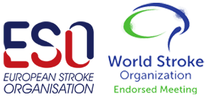 European Stroke Organisation and Wold Stroke Organization logos