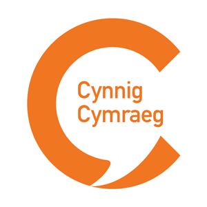 Cynnig Cymraeg logo