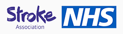 NHS and Stroke Association logos