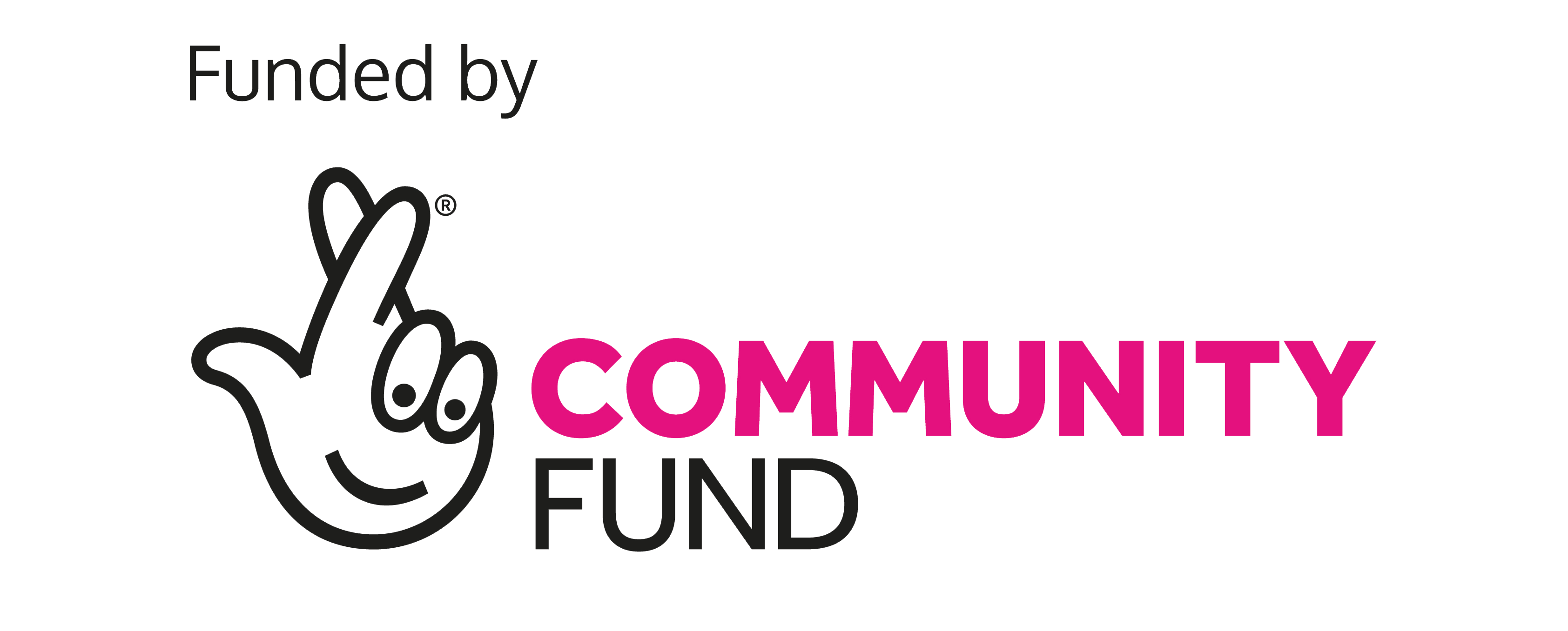 Service funded by community fund lottery logo