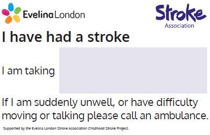 Childhood stroke resources | Stroke Association