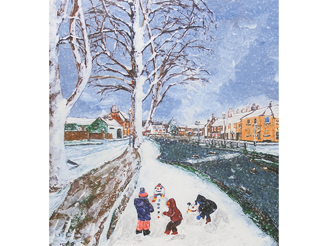 Many stroke survivors use art in their recovery. Each year, a stroke survivor's artwork is made into a limited edition Christmas card and sold in our card range to raise vital funds for stroke survivors.