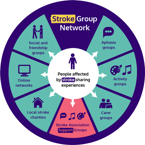 Stroke Group Network graphic