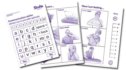 Photo of communication aids.