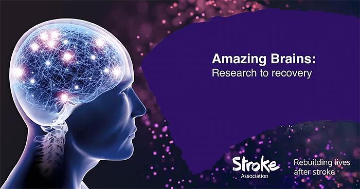 Amazing Brains 2019 poster, Stroke Association