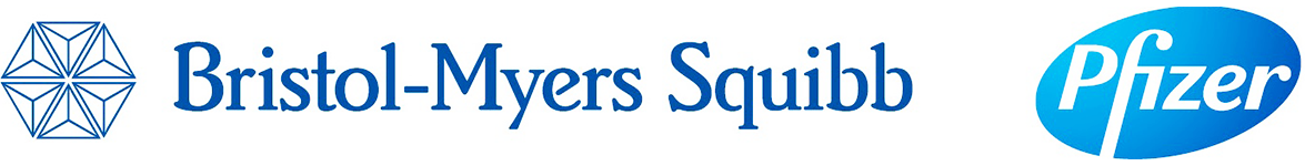 Bristol Myers Squibb - Pfizer logo
