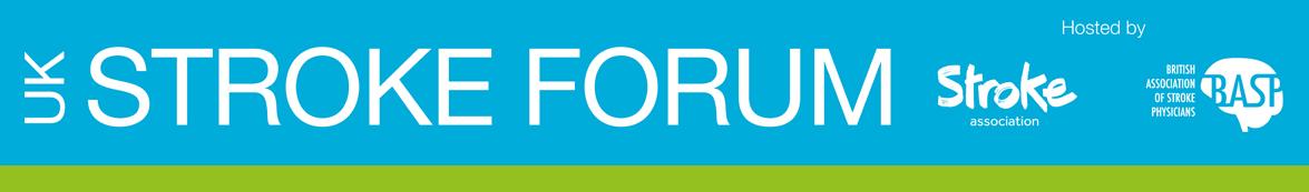 UK Stroke Forum event banner