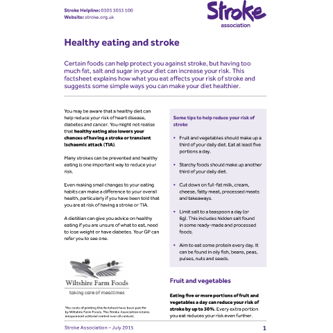 Stroke Patient Education Handouts