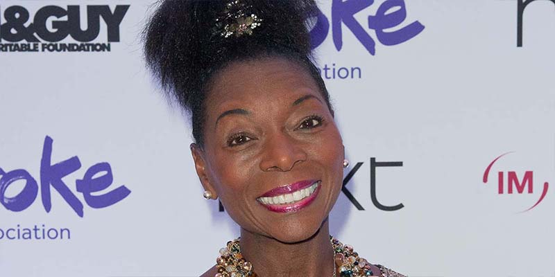 Baroness Floella Benjamin at the Life After Stroke awards