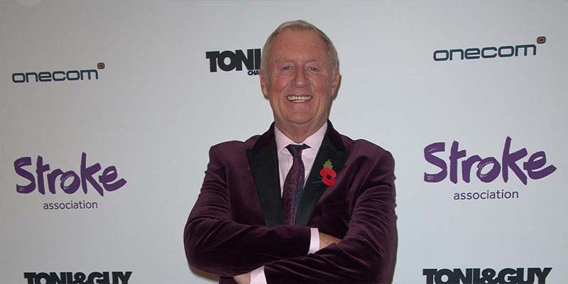 Chris Tarrant OBE at Life After Stroke Awards