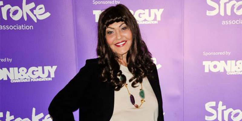 Hilary Devey at the Life After Stroke awards