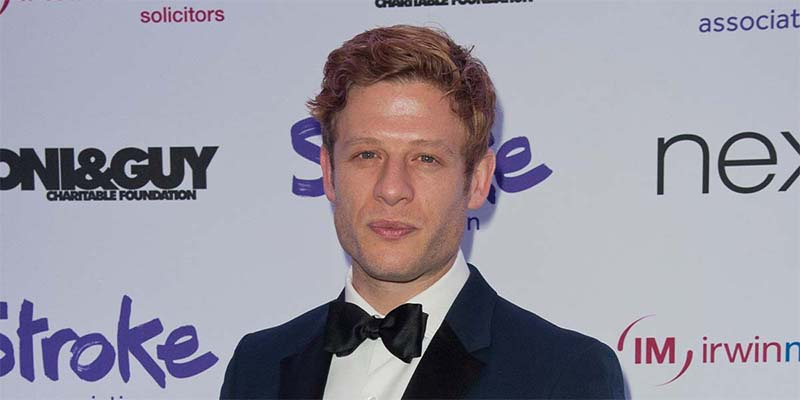 James Norton at the Life After Stroke awards