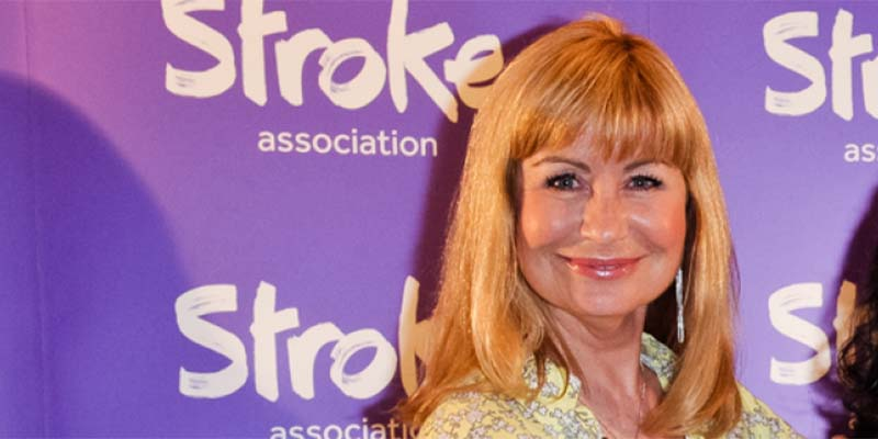 Sian Lloyd at Life After Stroke Awards