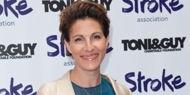 Tamsin Greig at Life After Stroke Awards