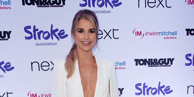 Vogue Williams at Life After Stroke Awards