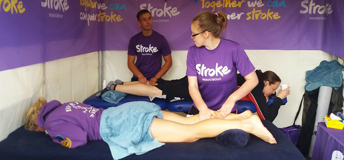 Photo of Bryony stroke survivor and volunteer at the Stroke Association
