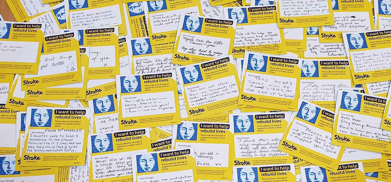 Photo of rebuilding lives messages for stroke survivors