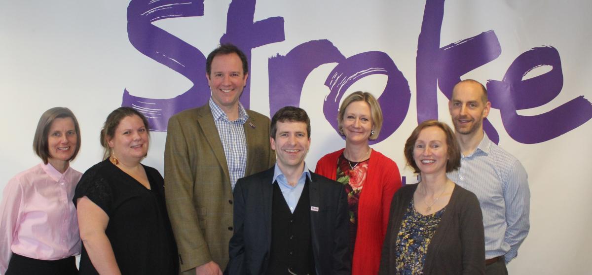 Stroke Association Lecturers: Dr Lesley Scobbie, Dr Nele Demeyere, Dr Fergus Doubal, Dr Terry Quinn, Dr Rebecca Fisher, Professor Audrey Bowen, Dr Phil Clatworthy