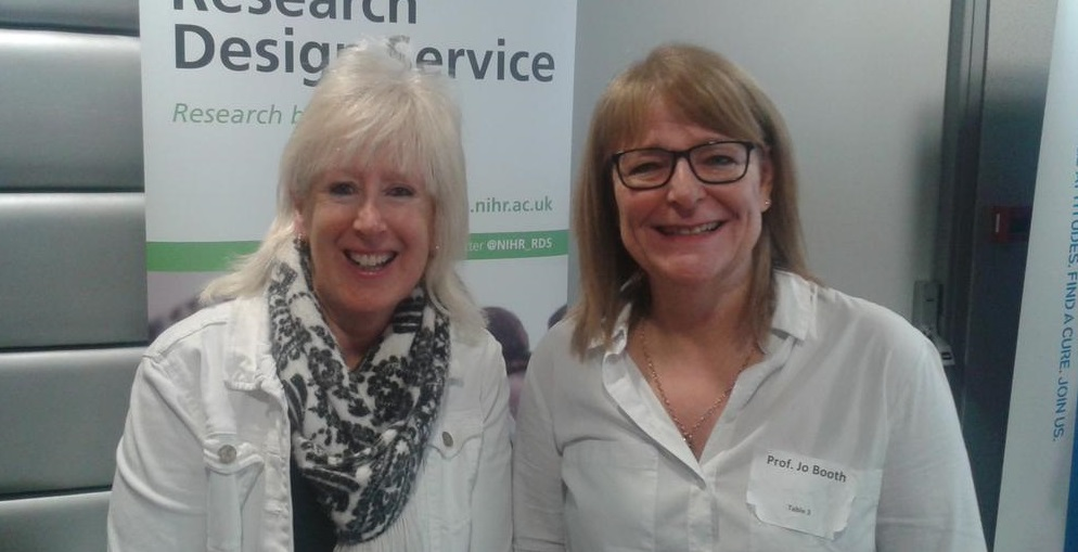 Dr Lois Thomas and Professor Joanne Booth