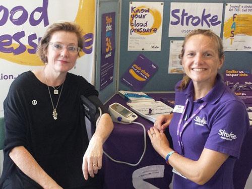 Photo of lydia, stroke coordinator at the stroke associaton