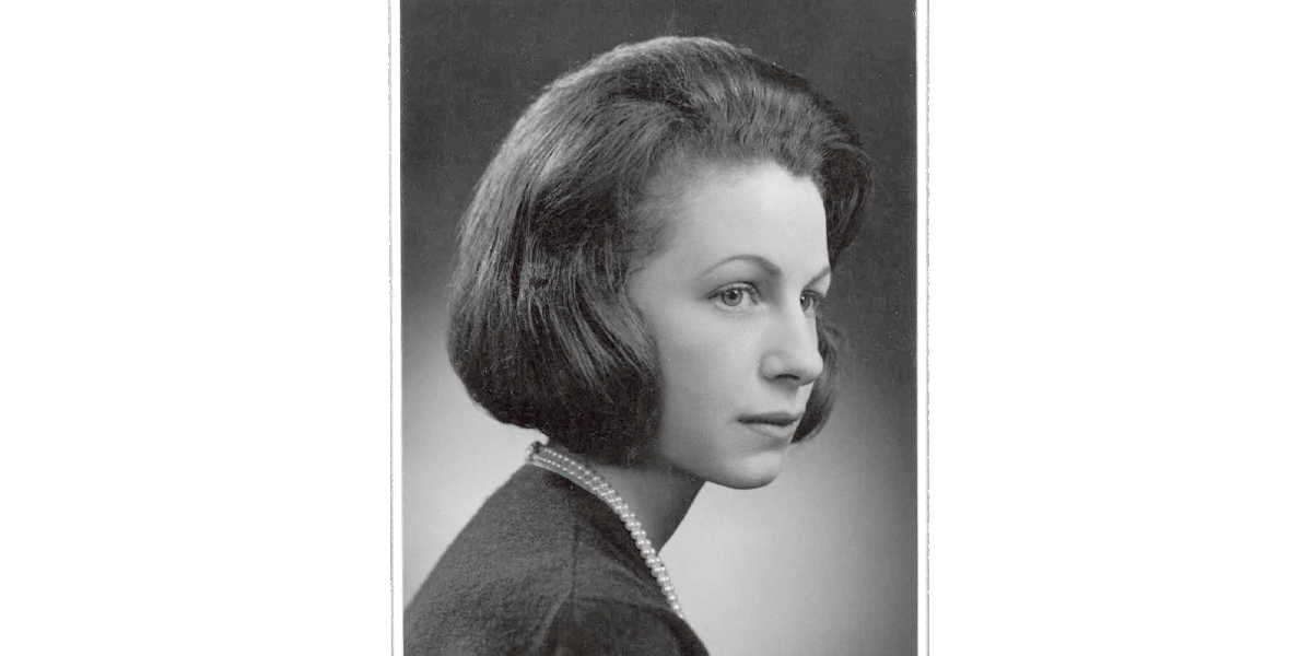 Photo portrait of Sylvia