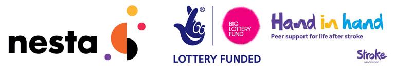 Brand logos, including: Nesta, Big Lottery, Hand in Hand.