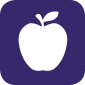 icon of an apple