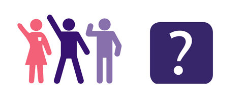illustration of people campaigning for better stroke treatments