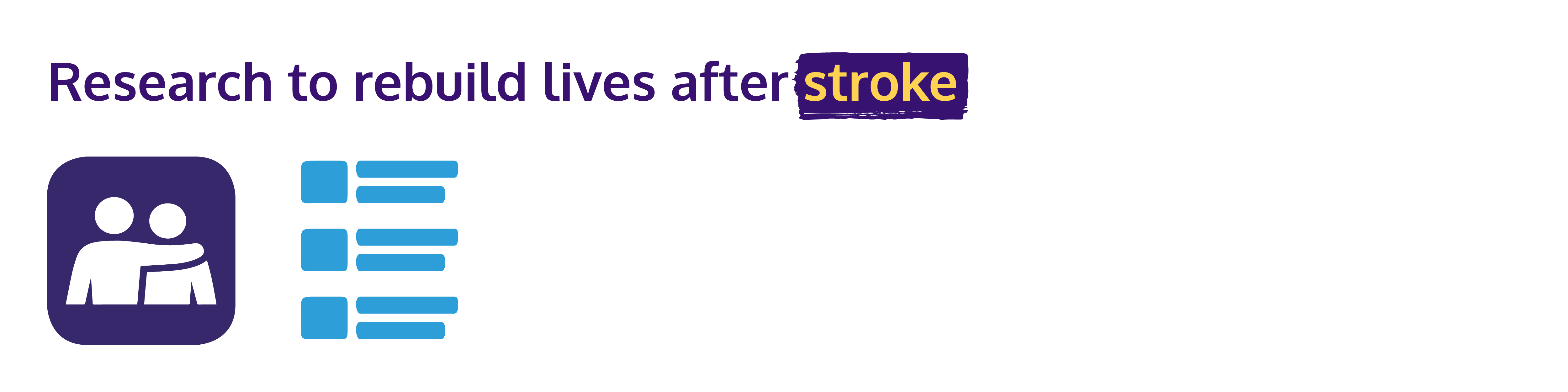 Research to rebuild lives after stroke