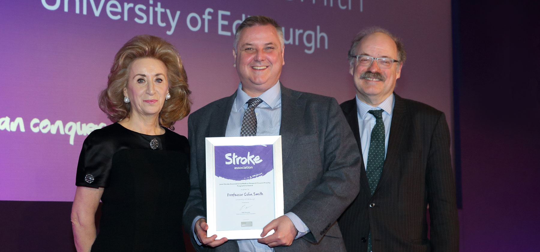Photo of professor Colin Smith