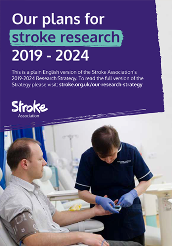 Our plans for stroke research, 2019 - 2024, Page 1