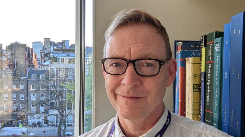 Photo of Professor Nick Ward