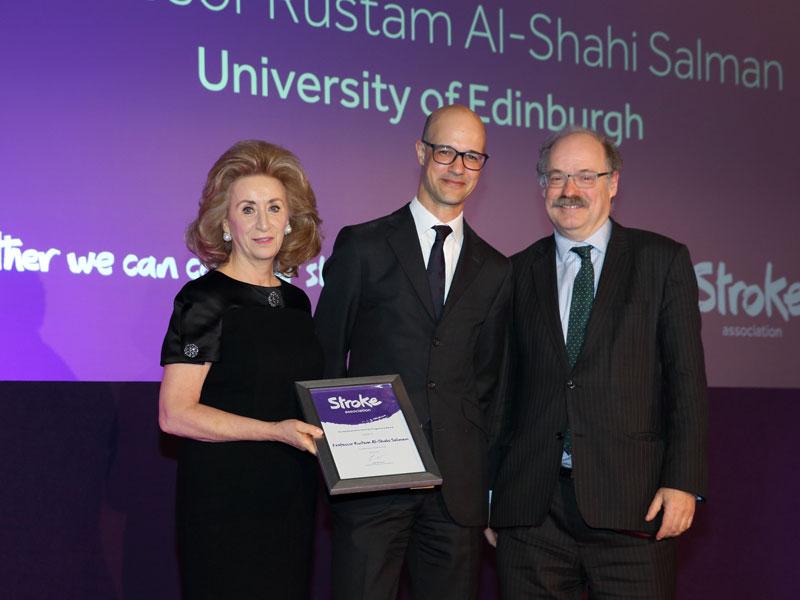 Photo of Professor Rustam Al-Shahi Salman awarded for the 'Priority Programme Award' in 2018.
