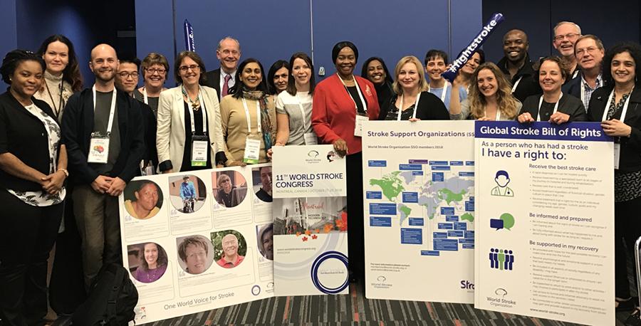 SSO Workshop, 2018 World Stroke Congress, Montreal