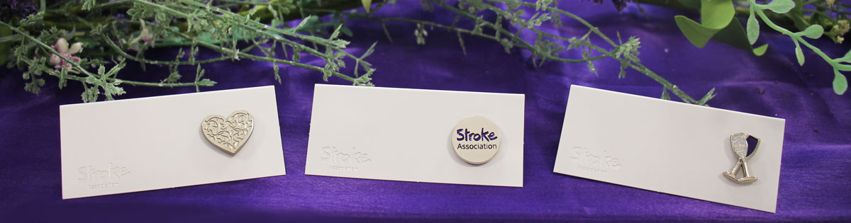 banner image of stroke association's wedding favours