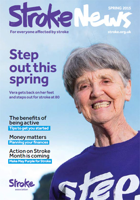 Stroke News Magazine Spring 2015 cover