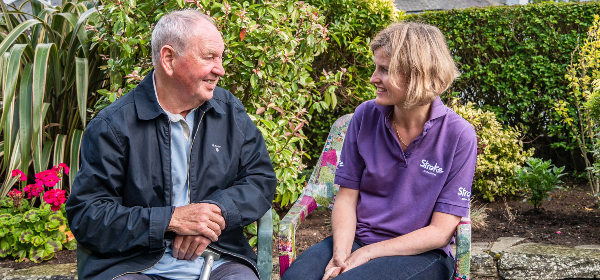 Photo of stroke survivors Allan and Angie