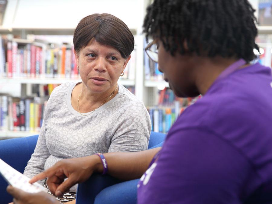 Photo of stroke association emotional support service