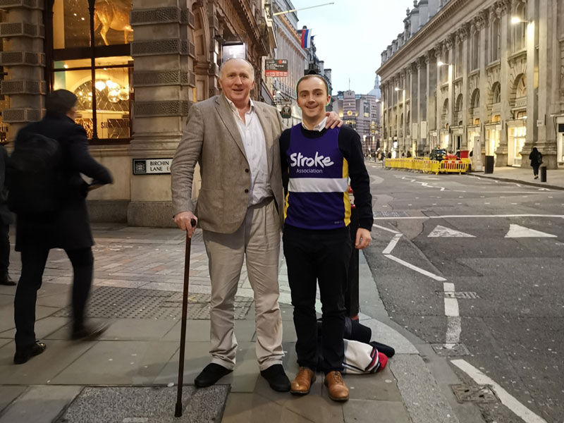 photo of gerry-stroke-survivor-and-peter-son
