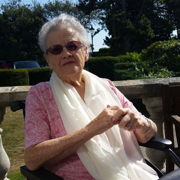 Photo of stroke survivor, Shirley Brittain
