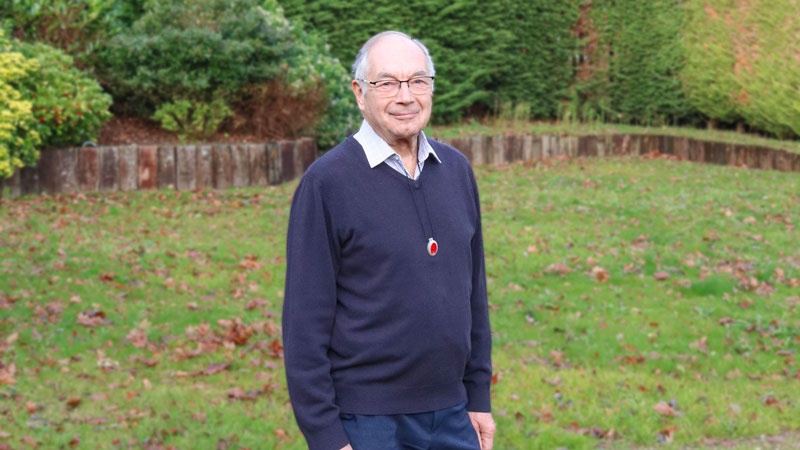 Photo of stroke survivor, Tony.