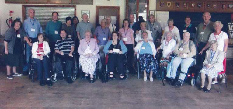 Chard & Crewkerne SC Receiving A Cheque From Crewkerne Hospital League of Friends 2013