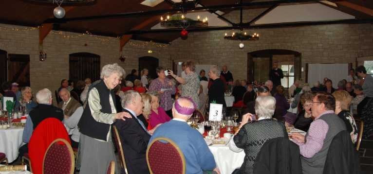 Thornbury & District Stroke Support Group Christmas Lunch 2014