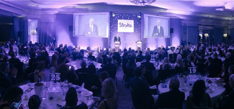 Chris Tarrant hosting the Life After Stroke Awards 2016
