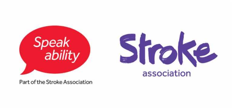 Speakability and Stroke Association Logos