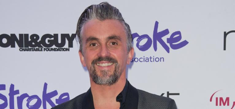 Markus Birdman at the Life After Stroke awards