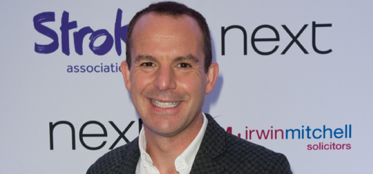 Martin Lewis at the Life After Stroke Awards